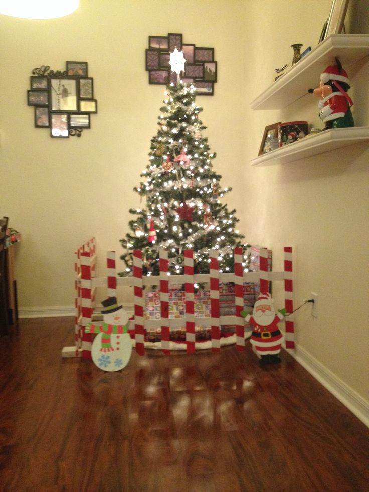 Gate For Christmas Tree  17 Best images about Christmas on Pinterest