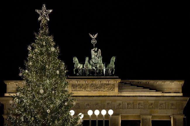 Gate For Christmas Tree  Urban Christmas Trees to Enjoy HouseTrip HouseTrip