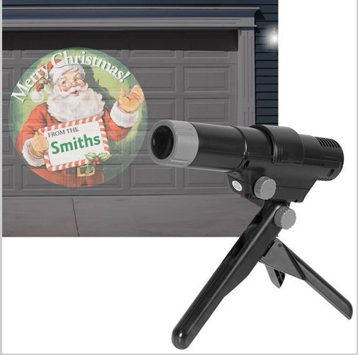 Indoor Christmas Projector  EZ UP LED Indoor Outdoor Holiday Projector w 24 Color