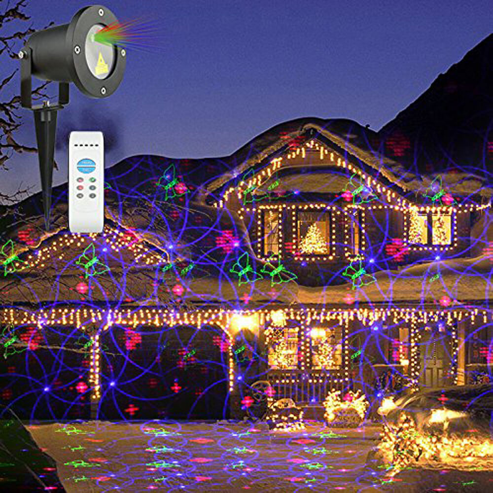 Indoor Christmas Projector  Christmas Laser Light Lamp Xmas Projector Holiday Decor
