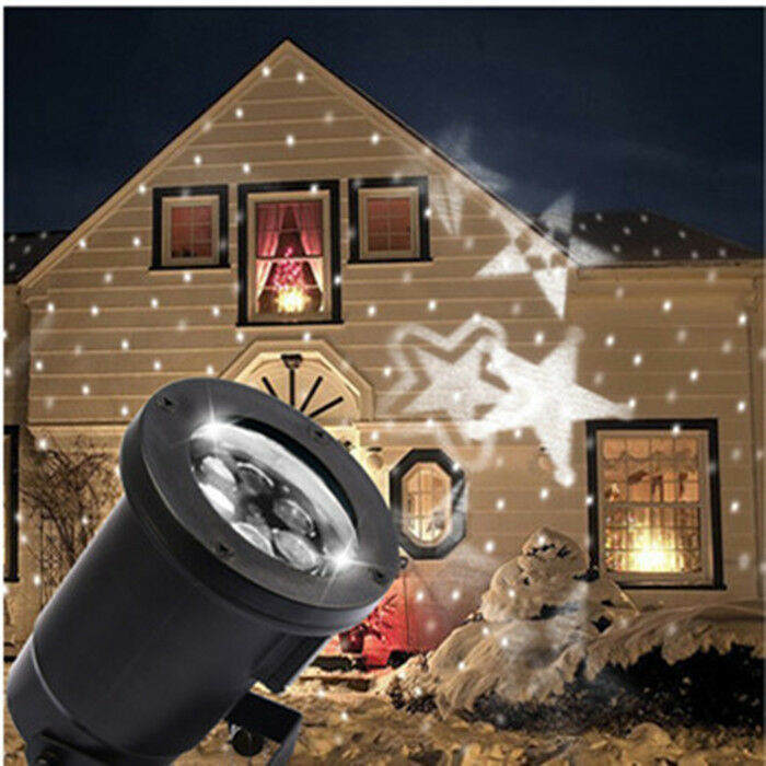 Indoor Christmas Projector  Indoor Outdoor CoolWhite LED Laser Projector Holiday