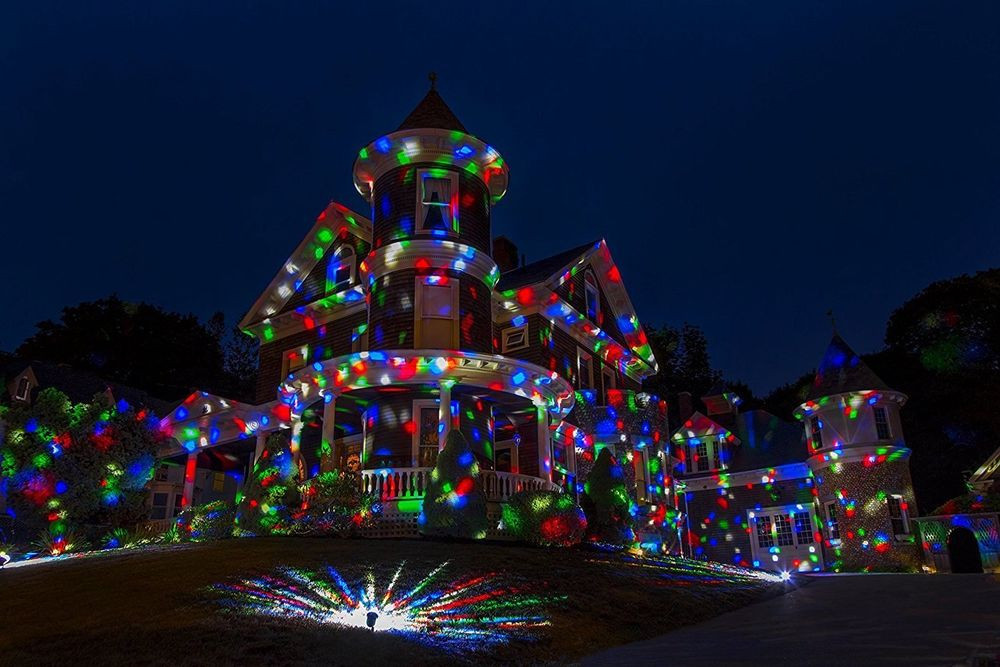 Indoor Christmas Projector  Christmas Laser Light Show Outdoor Indoor Multi Color