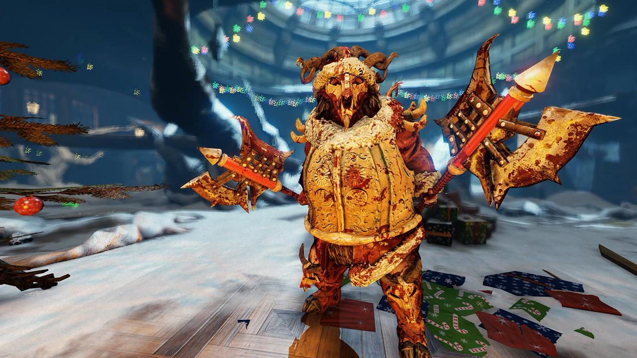 Killing Floor 2 Christmas 2019  Gary Busey is Santa in New Killing Floor 2 Winter Update