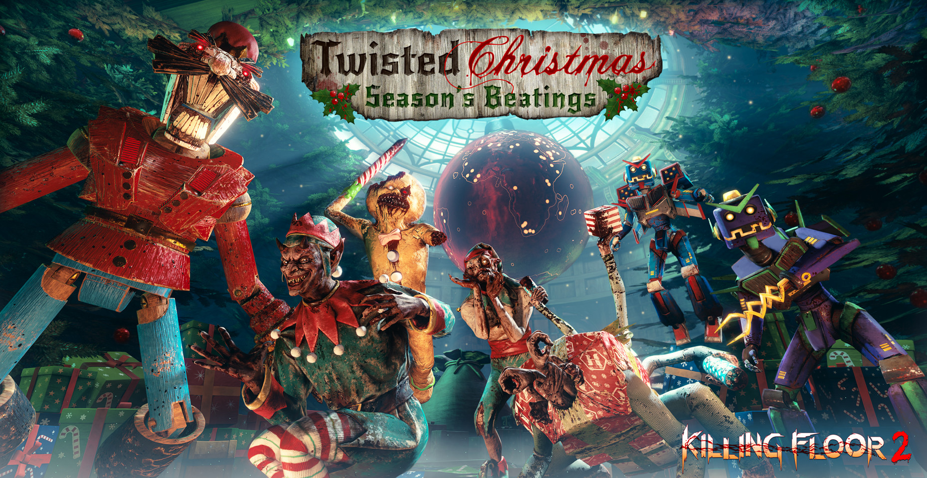 Killing Floor 2 Christmas 2019 Luxury Killing Floor 2 Twisted Christmas Season S Beatings