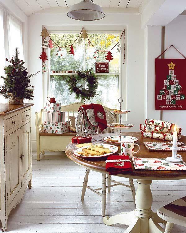Kitchen Christmas Decor Unique 40 Cozy Christmas Kitchen Décor Ideas