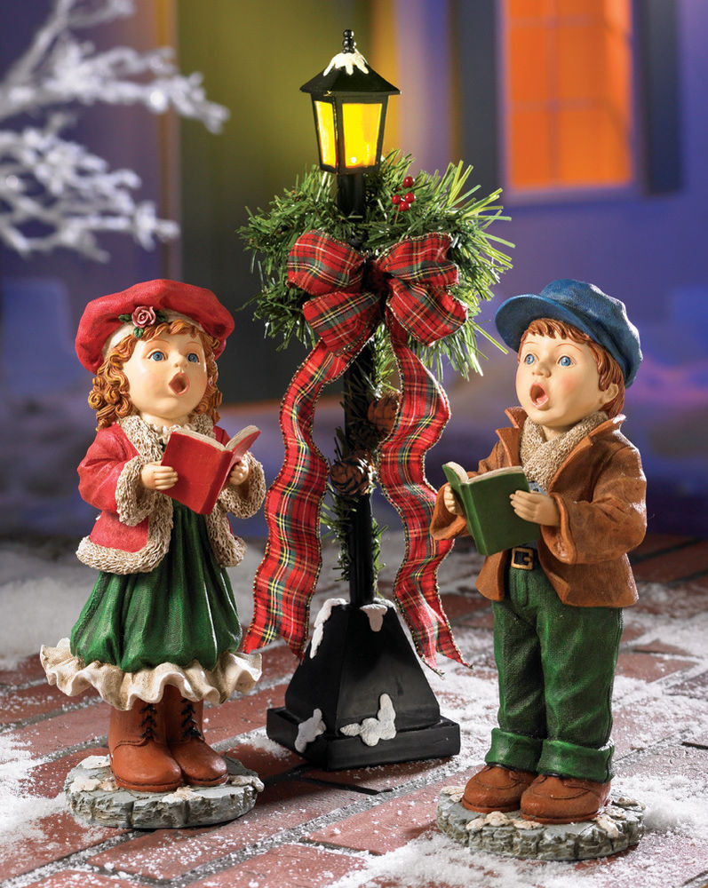 Lighted Outdoor Christmas Lamp Post  3 PC set outdoor Christmas Decoration LED Lights Lighted