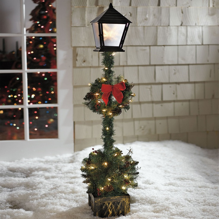 Lighted Outdoor Christmas Lamp Post  13 best Hello Lamp Post images on Pinterest