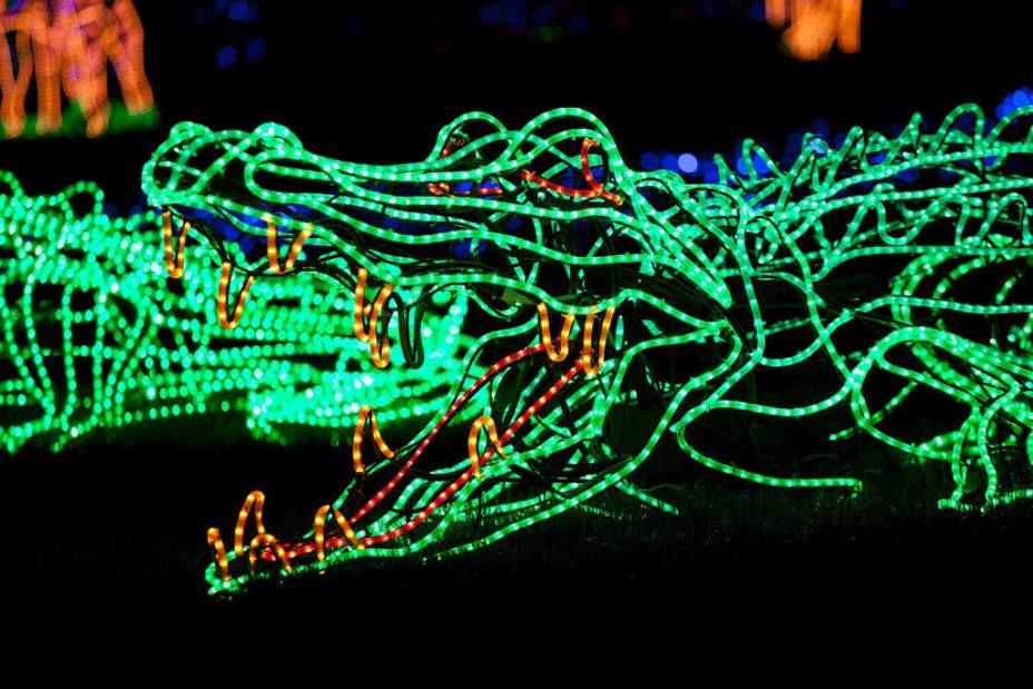 Newport Aquarium Christmas Lights  Popular holiday light displays around Oregon Check out