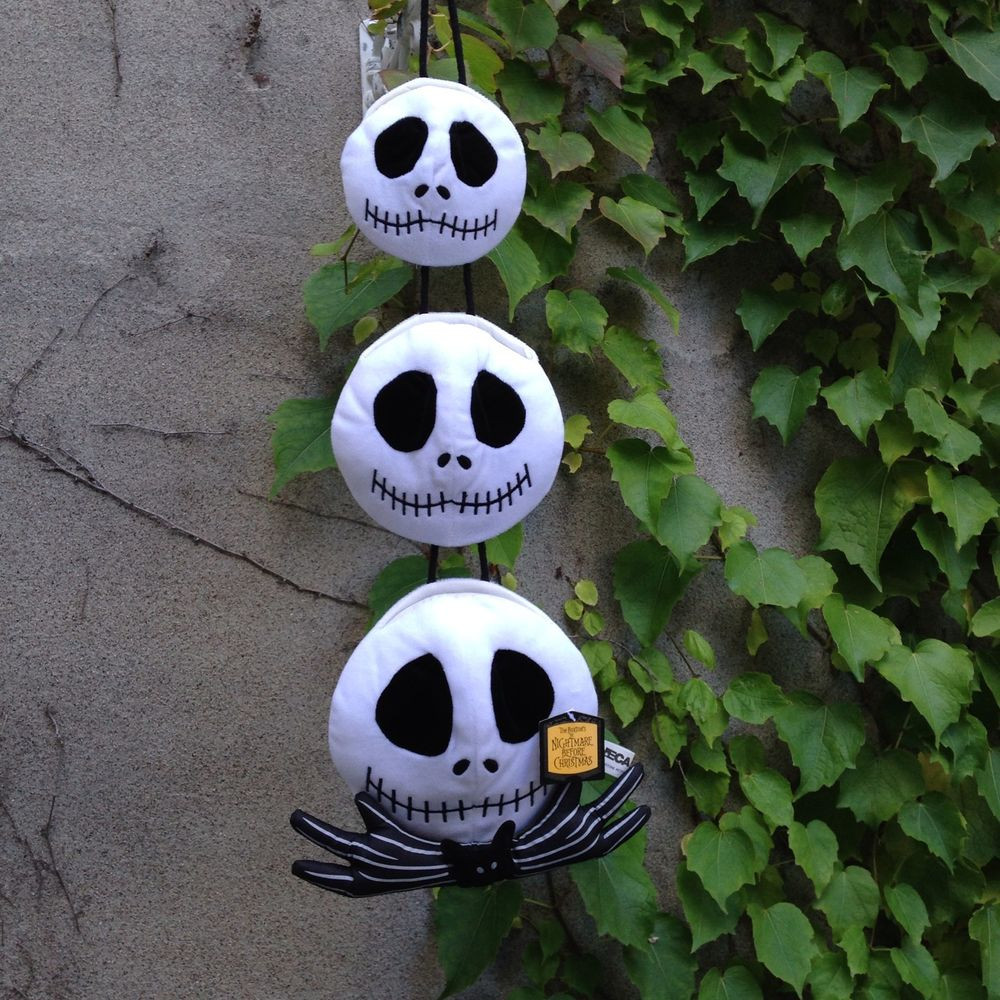 Nightmare Before Christmas Wall Decor  Nightmare Before Christmas Hanging Jack Skellington Heads