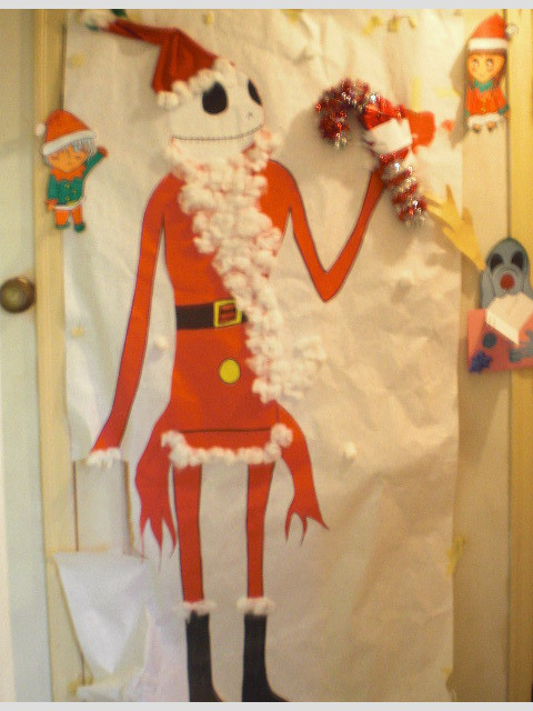 Nightmare Before Christmas Wall Decor  Nightmare Before Christmas Christmas Door Decoration