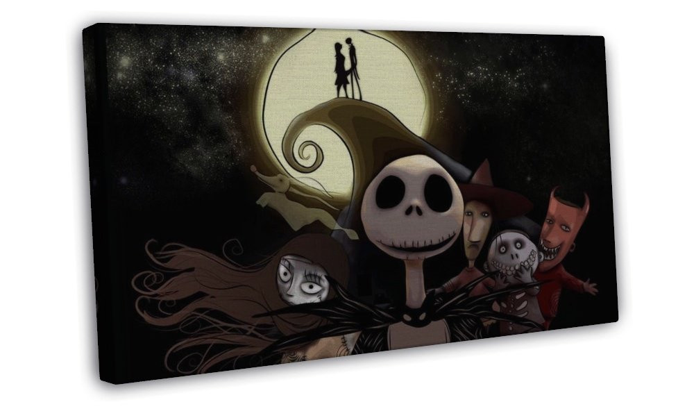 Nightmare Before Christmas Wall Decor  The Nightmare Before Christmas Jack Movie Wall Decor 20x16