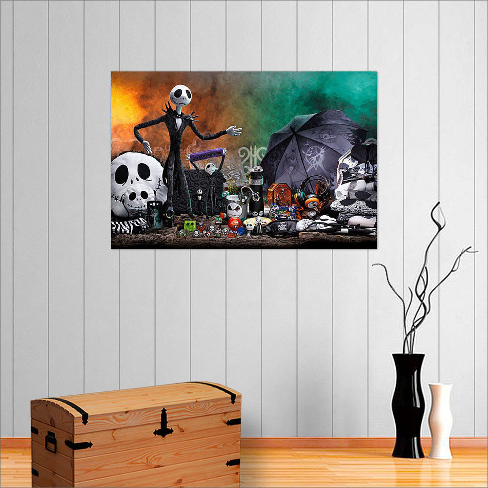 Nightmare Before Christmas Wall Decor  THE NIGHTMARE BEFORE CHRISTMAS WALL ART POSTER