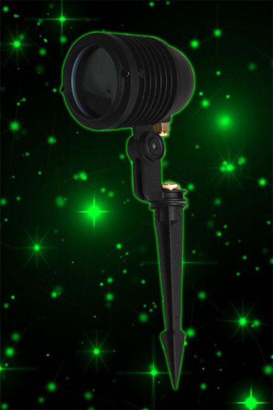 Outdoor Christmas Laser Lights  Green Blisslights Spright Out Door Firefly Laser