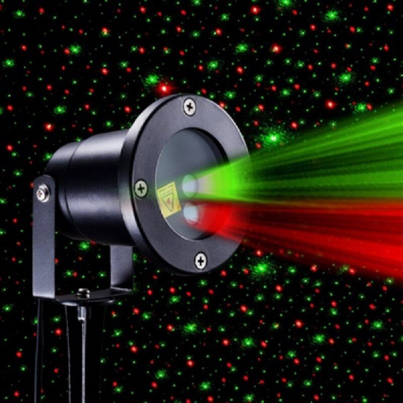 Outdoor Christmas Laser Lights  Star Show Indoor Outdoor Christmas Laser Light Projector