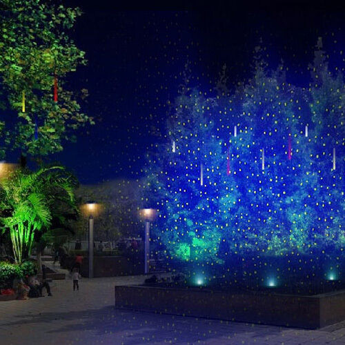 Outdoor Christmas Laser Lights  SUNY Outdoor Holiday GREEN Firefly Laser BLUE LED