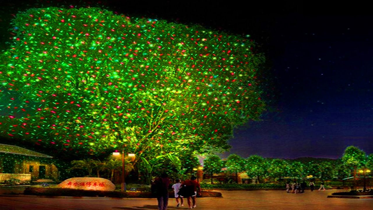 Outdoor Christmas Laser Lights  Laser Christmas Lights & Outdoor Holiday Projectors