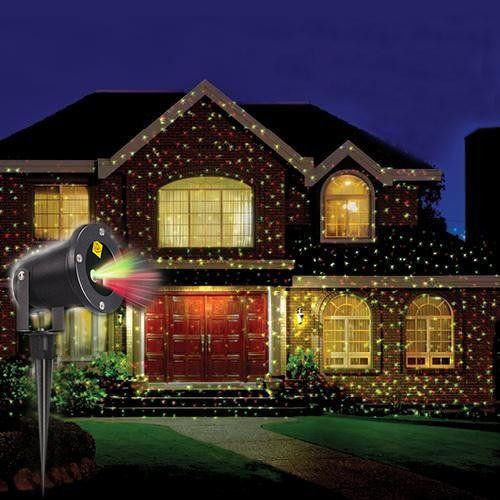 Outdoor Christmas Laser Lights  LED Outdoor Waterproof Laser Projector Create Your Own