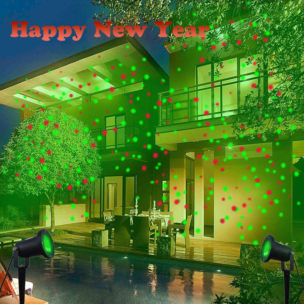 Outdoor Christmas Laser Lights  New Waterproof Outdoor Christmas Lights Laser Projector