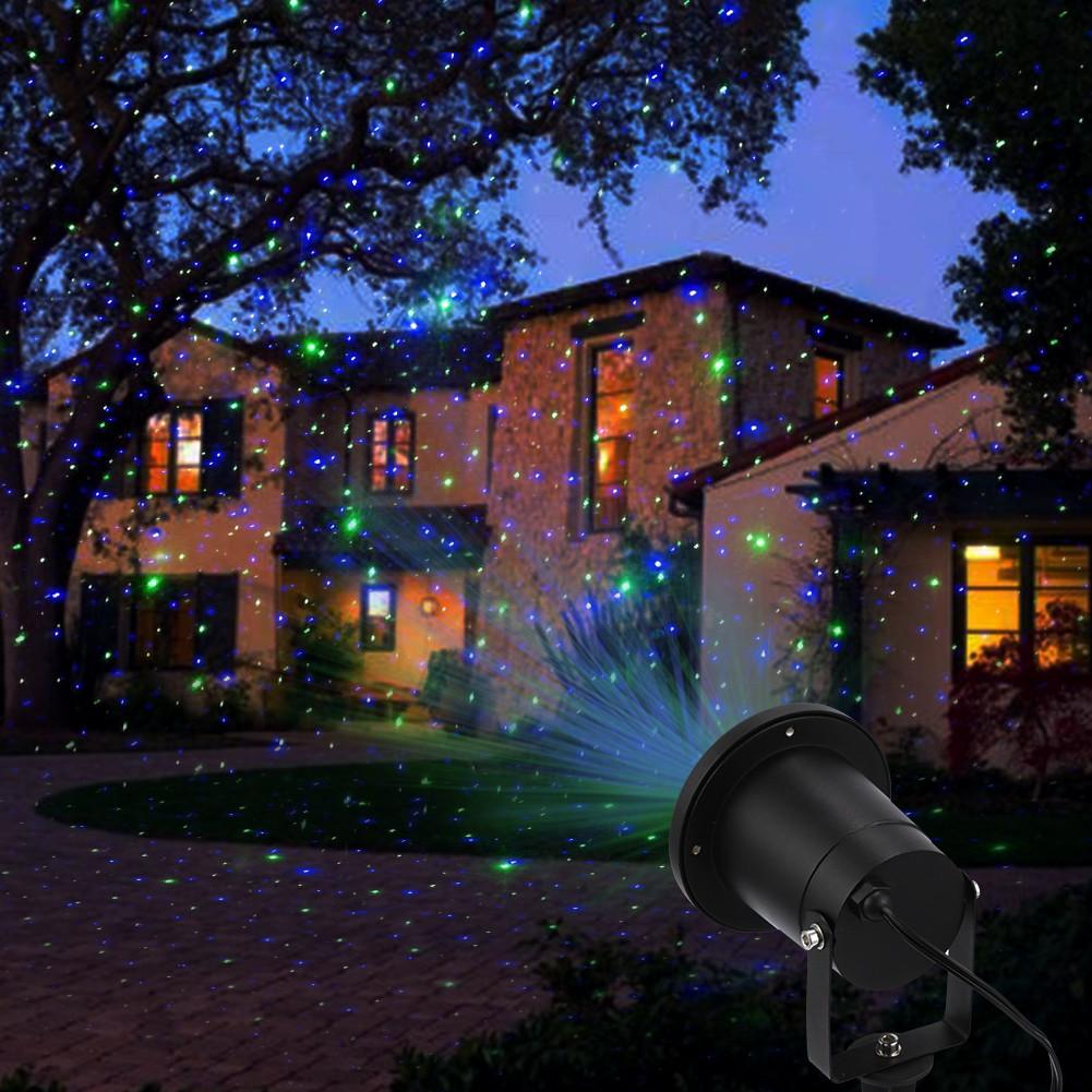 Outdoor Christmas Laser Lights  Laser Lights Outdoor Holiday Decoration Christmas Lighting