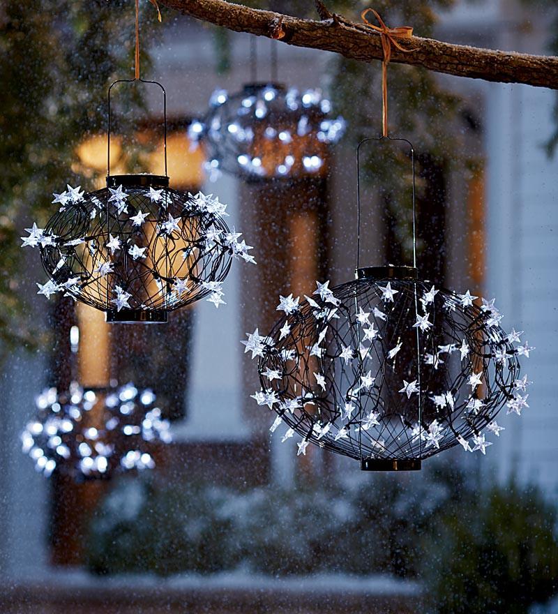 Outdoor Christmas Light Balls  Christmas light balls outdoors your best alternative for