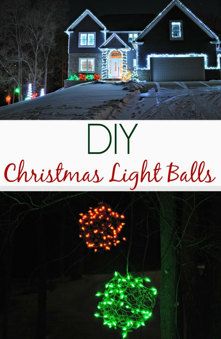 Outdoor Christmas Light Balls  Lighted Christmas Balls Outdoor Lights 2013 — Decor and