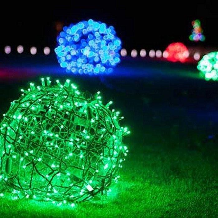 Outdoor Christmas Light Balls  Make Your Own Christmas Light Balls