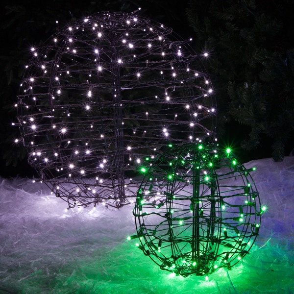 Outdoor Christmas Light Balls  Christmas Light Balls
