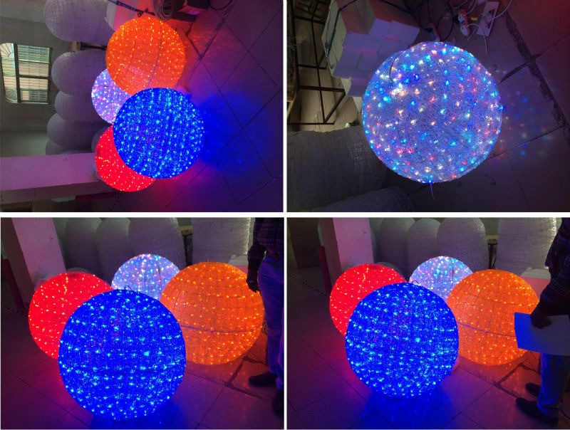Outdoor Christmas Light Balls  Christmas Light Ball