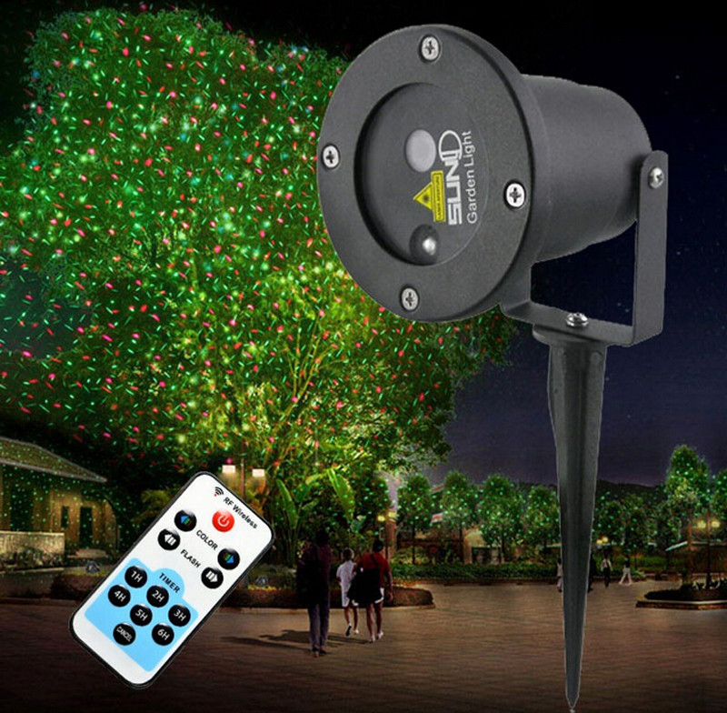 Outdoor Christmas Light Projector  Waterproof Outdoor Christmas Lights Elf Laser Projector