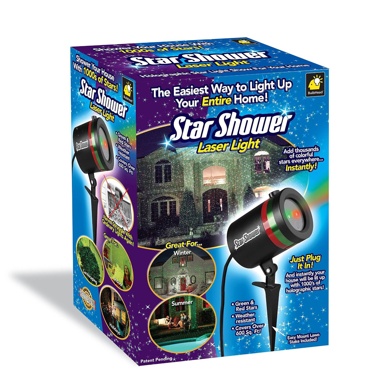 Outdoor Christmas Light Projector  Outdoor Christmas Lights – New and Incredible Innovations