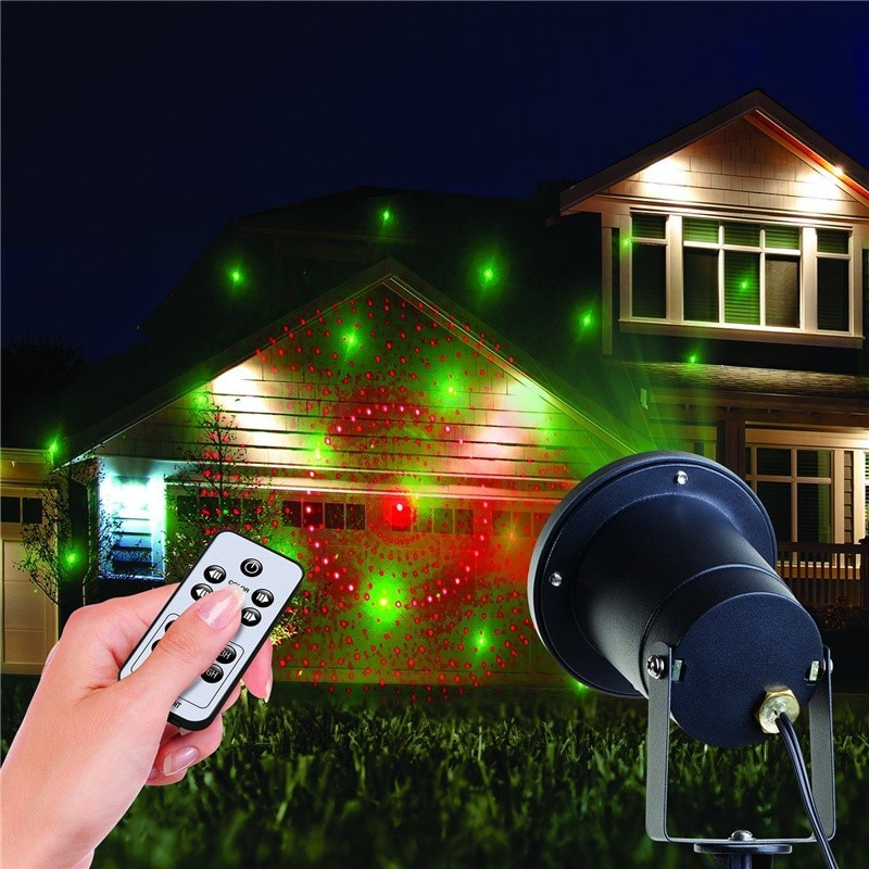 Outdoor Christmas Light Projector  Christmas Lights Outdoor Projector Laser Star Show Light