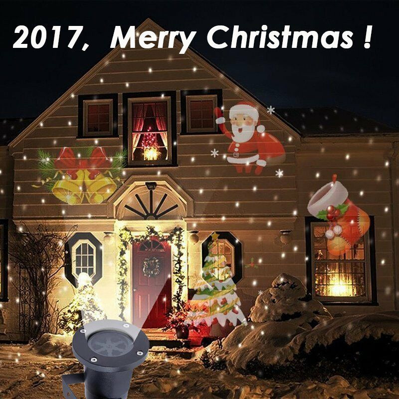 Outdoor Christmas Light Projector  Outdoor Christmas LED Lights Moving Laser Projector