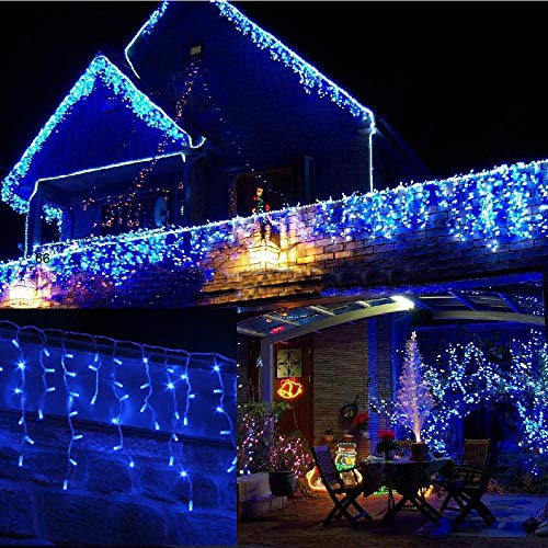 Outdoor Christmas Lights Amazon  Blue and White Outdoor Christmas Lights Amazon