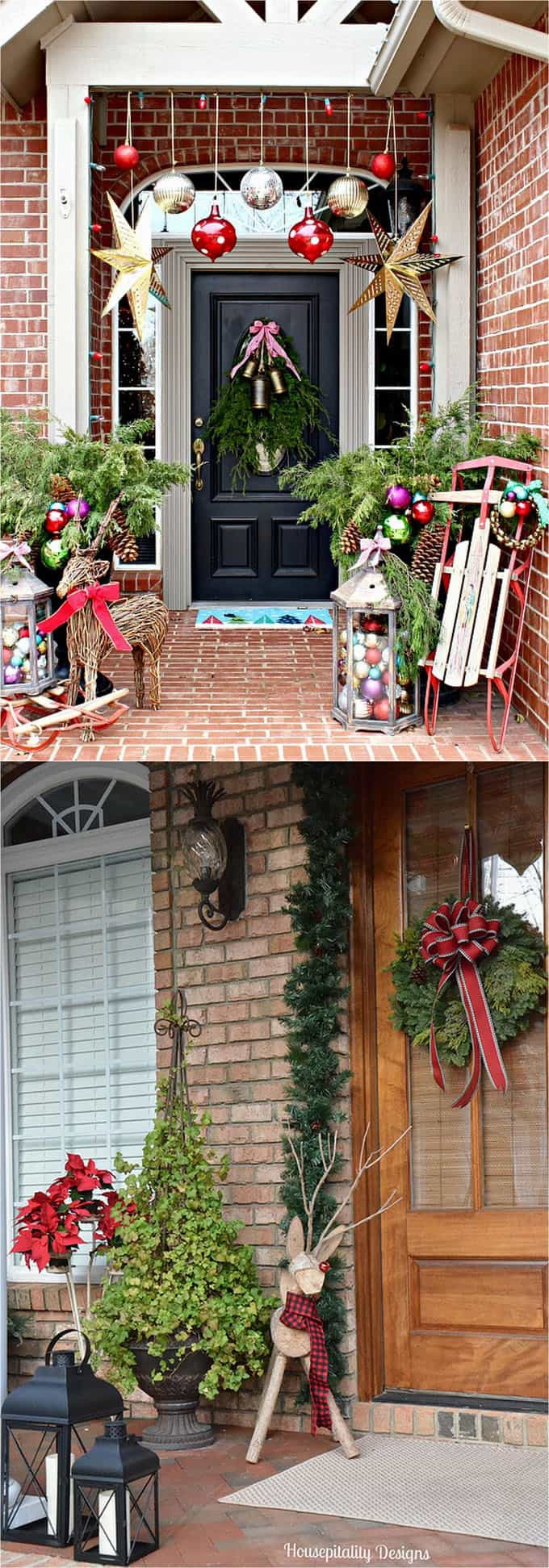 Outdoor Christmas Ornaments  Gorgeous Outdoor Christmas Decorations 32 Best Ideas
