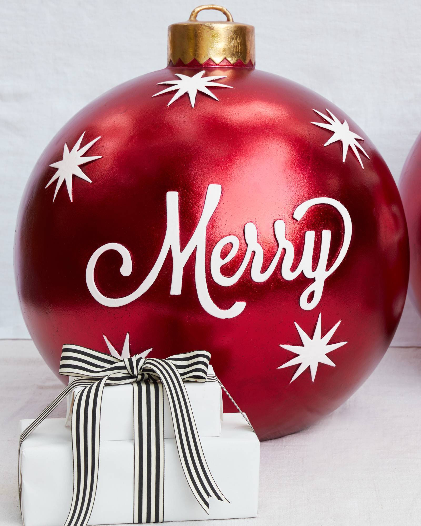 Outdoor Christmas Ornaments  Outdoor Merry Christmas Ornaments