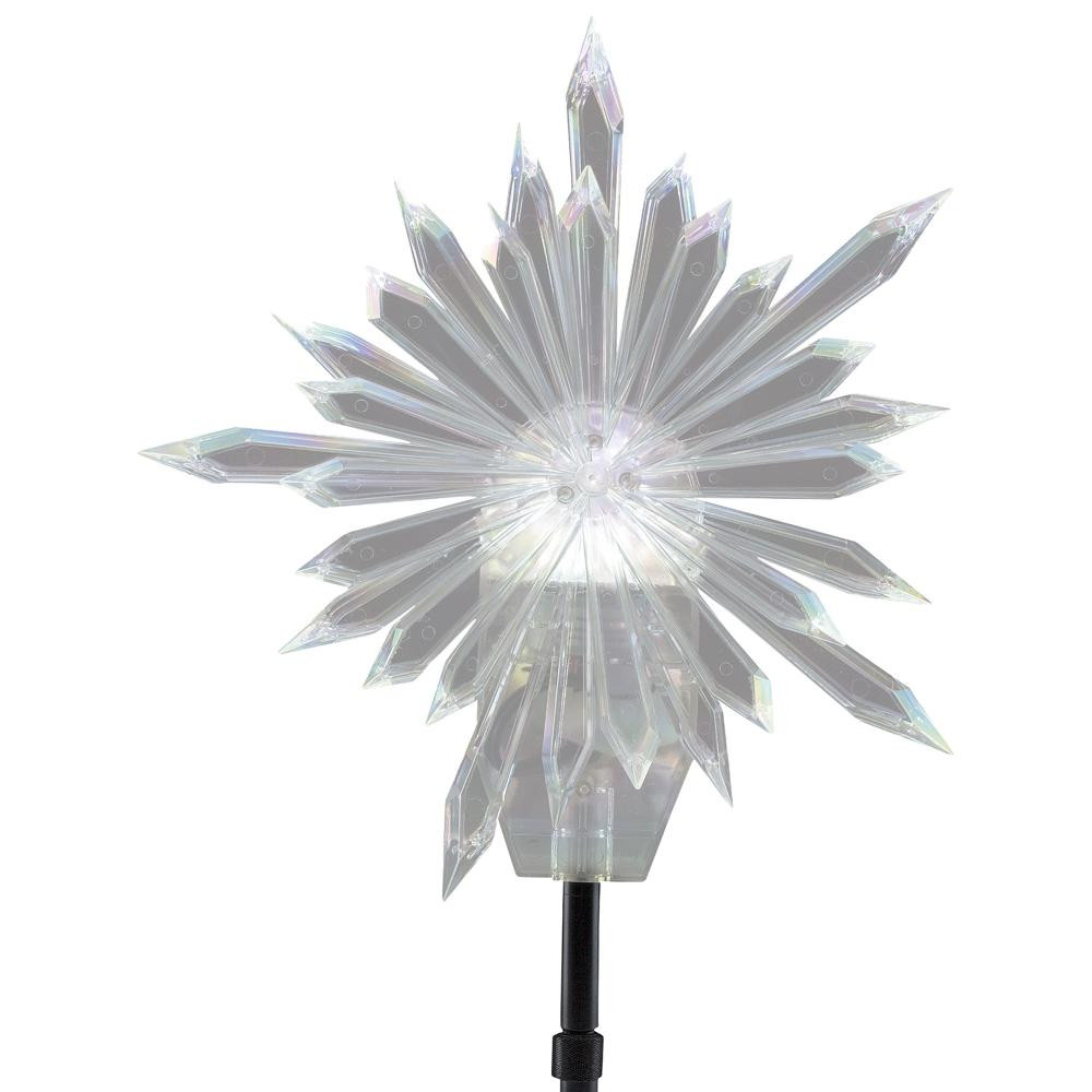 Outdoor Christmas Tree Topper  LightShow 19 29 in Projection Tree Topper Kaleidoscope