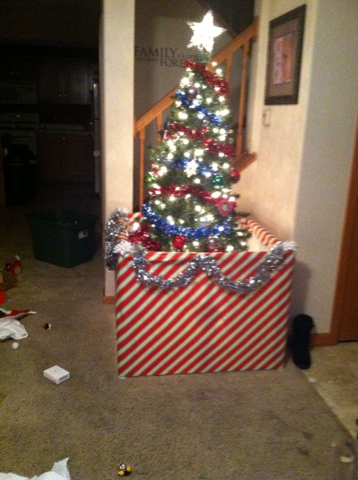 Pet Gate For Christmas Tree  Baby proof Christmas tree