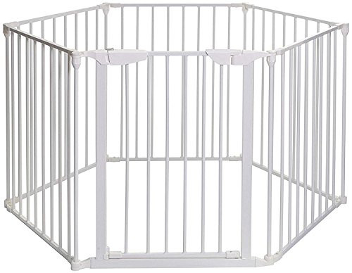 Pet Gate For Christmas Tree  Teekland White Baby Safety Gate Baby Protect Walls