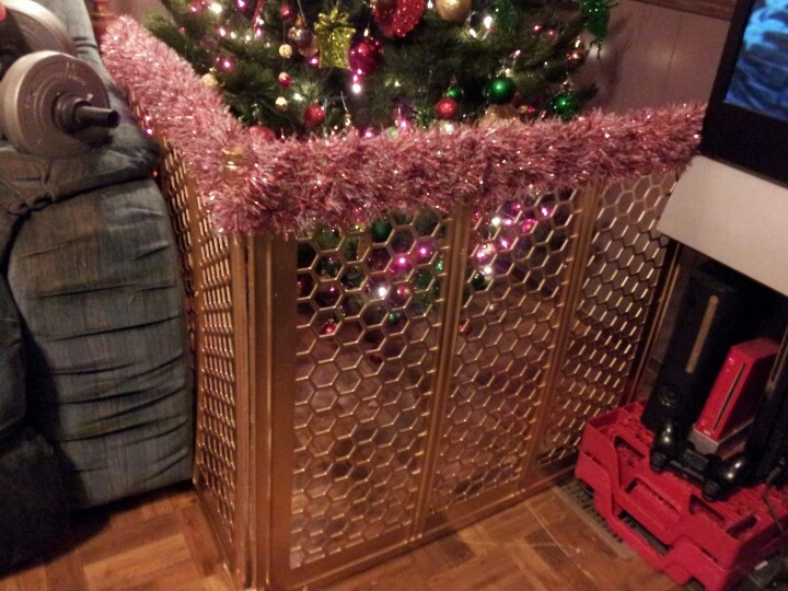 Pet Gate For Christmas Tree  Best 25 Corner christmas tree ideas on Pinterest