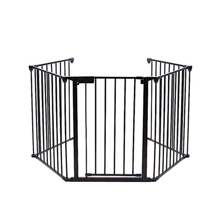 Pet Gate For Christmas Tree  Garden Bean Fireplace Fence Baby Safety Hearth Metal
