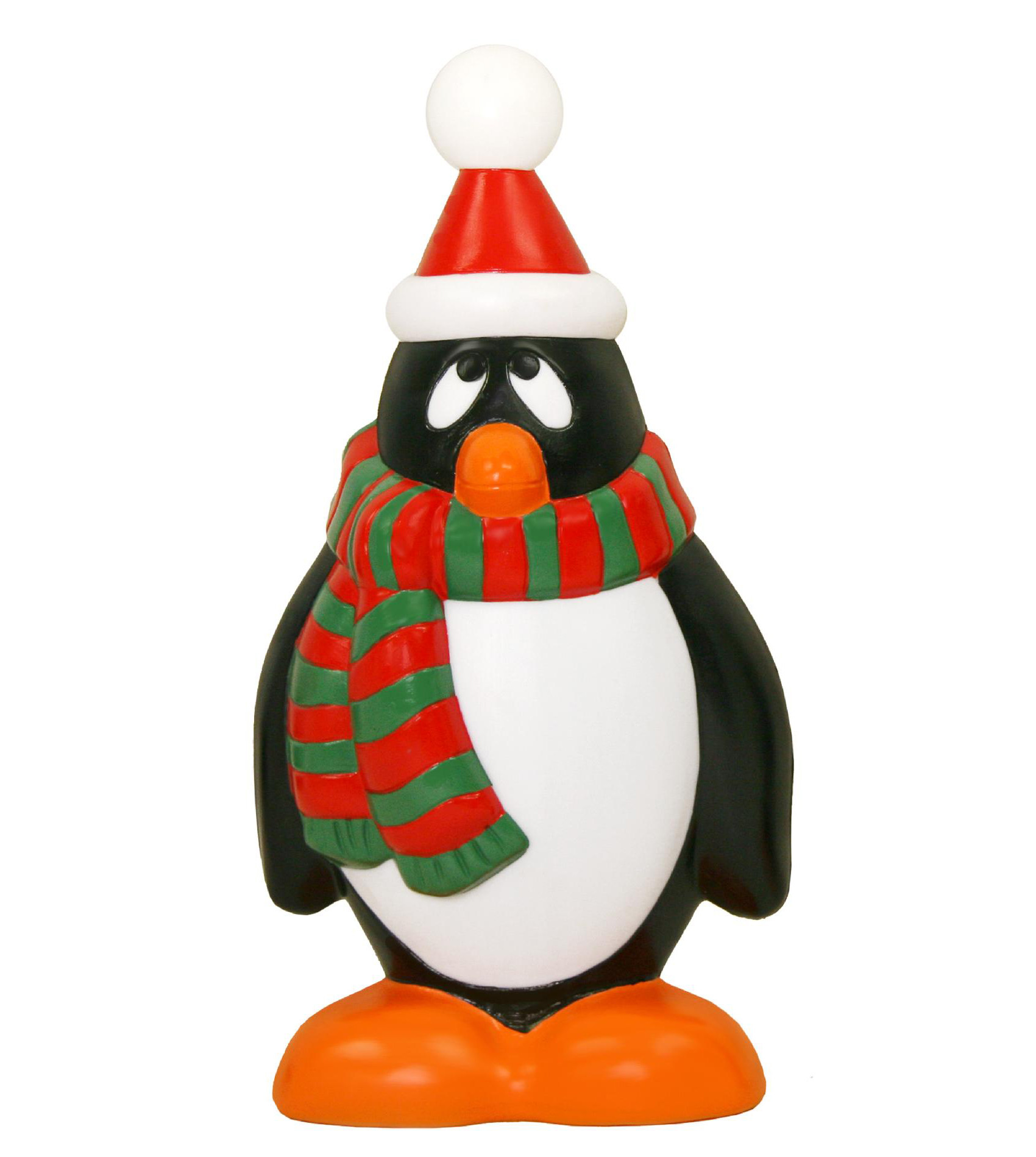 """Plastic Outdoor Christmas Decorations Clearance  28"""" Light Up Penguin Christmas Decoration—Kmart"""