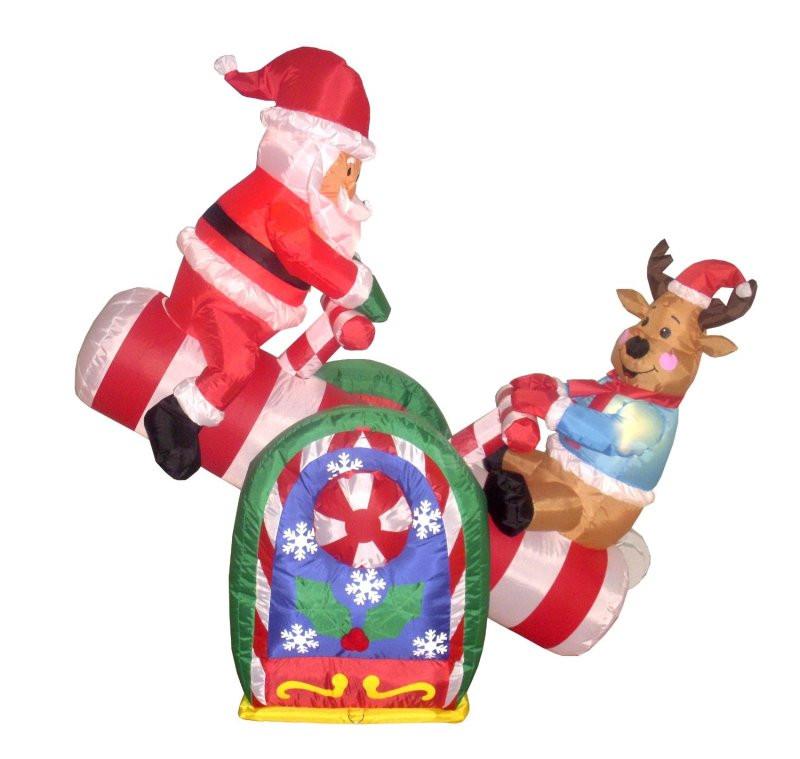 Plastic Outdoor Christmas Decorations Clearance  inflatable outdoor christmas decorations clearance