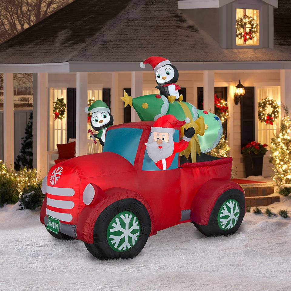 Plastic Outdoor Christmas Decorations Clearance  The 8 Best Christmas Inflatables to Buy in 2018
