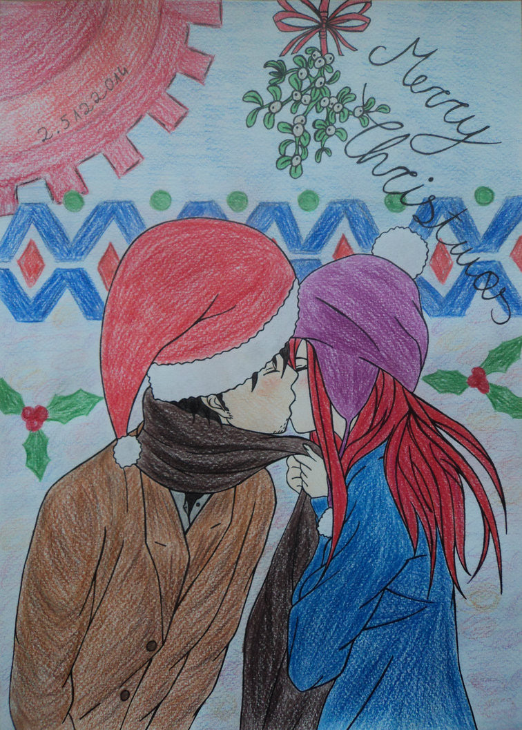 Steins Gate Christmas  A Very Steins Gate Christmas by itweetie on DeviantArt