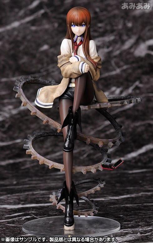 Steins Gate Christmas  Steins Gate Makise Kurisu 1 8 Scale PVC Action Figure