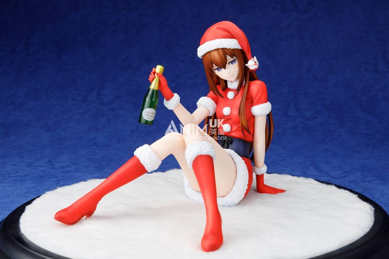 Steins Gate Christmas  Steins Gate 0 Kurisu Makise Christmas Ver 1 7 PVC Statue