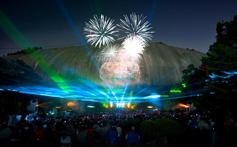 Stone Mountain Christmas Hours  Stone Mountain Park laser show Tickets parking and