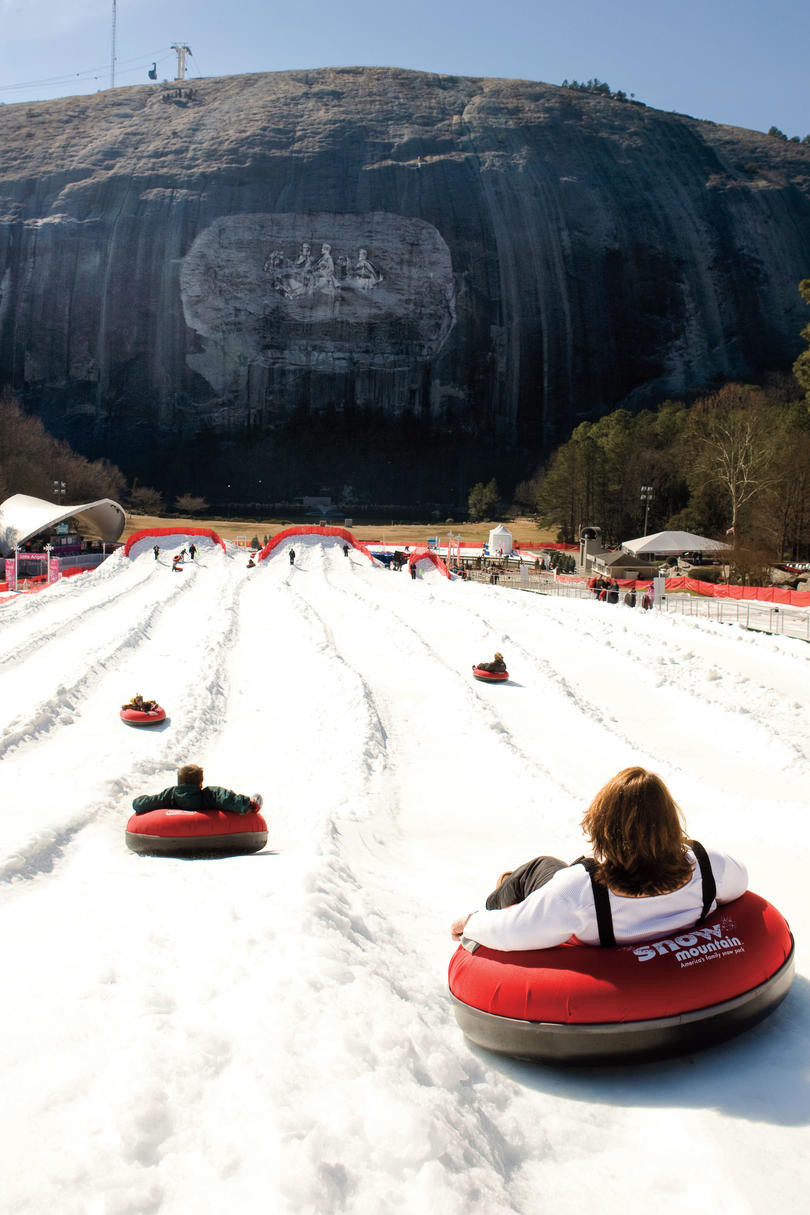 Stone Mountain Christmas Hours  Best Southern Christmas Vacations Southern Living