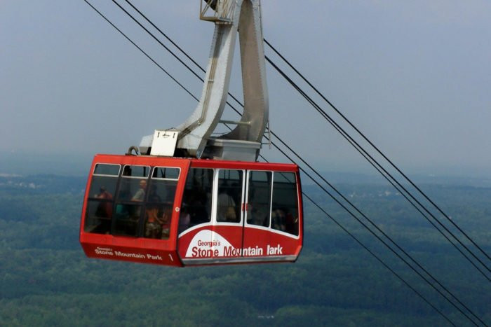 Stone Mountain Christmas Hours  You ll Love This Amazing Tram Ride That Takes You High