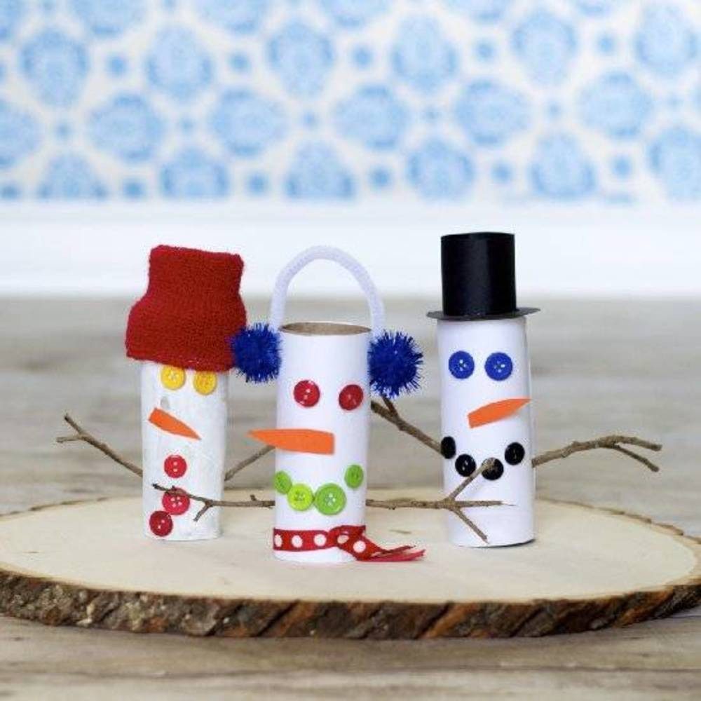 Toilet Paper Roll Christmas Craft  9 Christmas Crafts That Use Toilet Paper Rolls